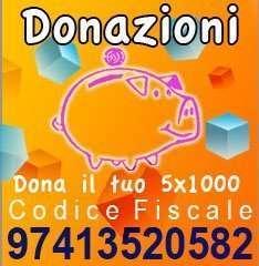 banner donazioni e cinque per mille