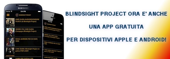 Scarica la app gratuita di Blindsight Project
