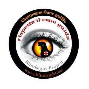 Logo Cane Guida di Blindsight Project