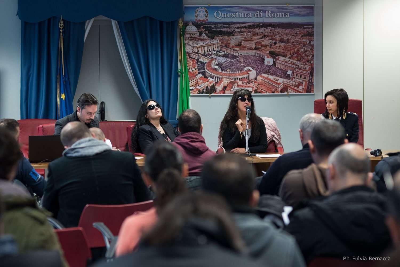 Seminario sul Cane Guida presso la Questura di Roma