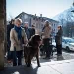 Il gruppo durante la visita della città, guidati dalla Dott.sa Isabella Pilo