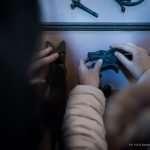 Nel museo Rizzarda, il gruppo tocca le opere in ferro battuto
