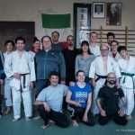 Foto di gruppo insieme ai ragazzi del Judo Club di Feltre