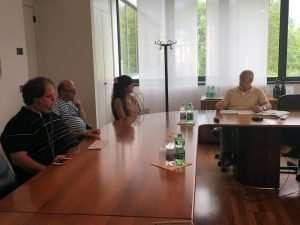 Massimo Vettoretti, Fernando Giacomin, Simona Zanella e Giuseppe Pat