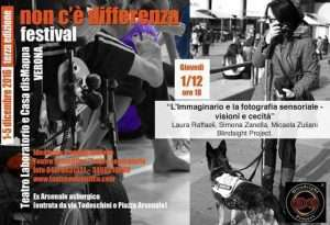 "Mostra fotografica e video accessibili al ""Non c'è differenza Festival 2016"" di Verona"