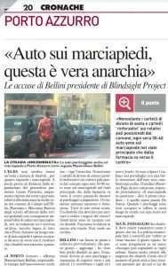 Abusi di parcheggi all'Isola d'Elba