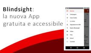 scarica la nuova App gratuita di Blindsight Project