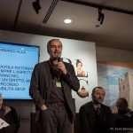 Stefano Pierpaoli nel corso della tavola rotonda sull'accessibilità del cinema alla Festa del Cinema di Roma 2017