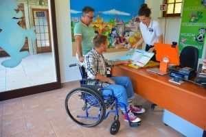 Easy Rider, il servizio di Progetto Yeah! che assicura alle persone disabili di divertirsi a Gardaland