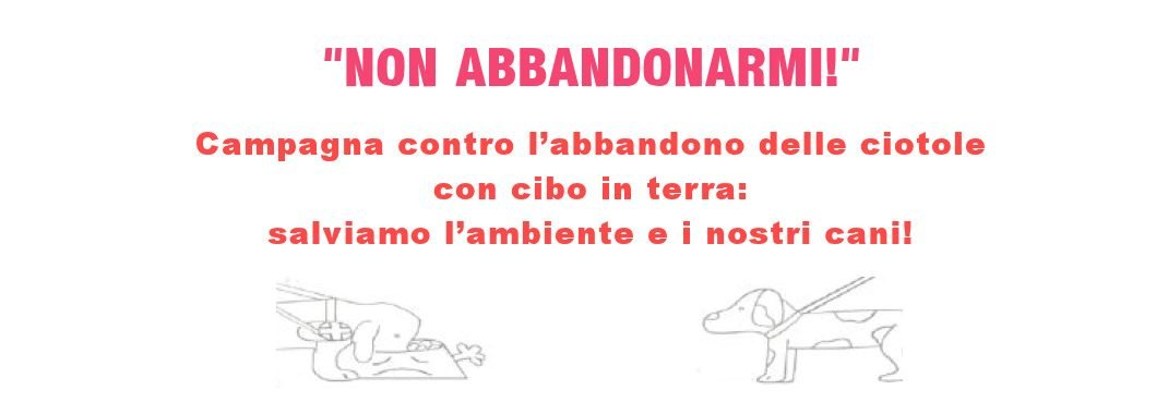 "campagna ""Non abbandonarmi"" di Blindsight Project"